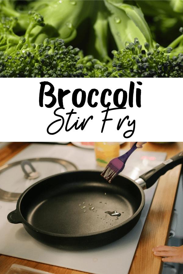healthy broccoli stir fry