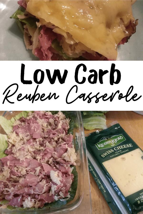 Low Carb Reuben Casserole for WW weight watchers recipe