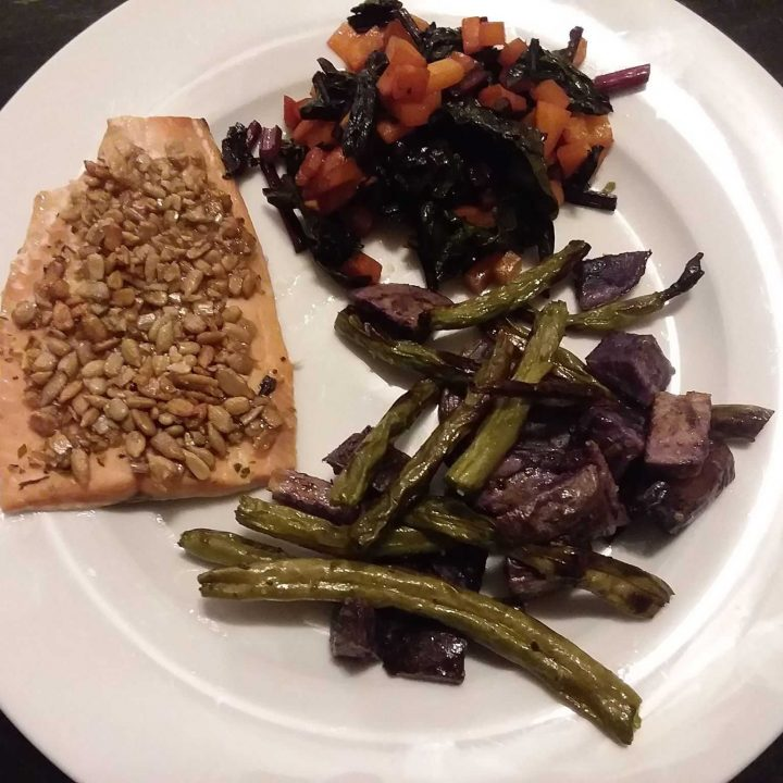 baked salmon recipe for ww
