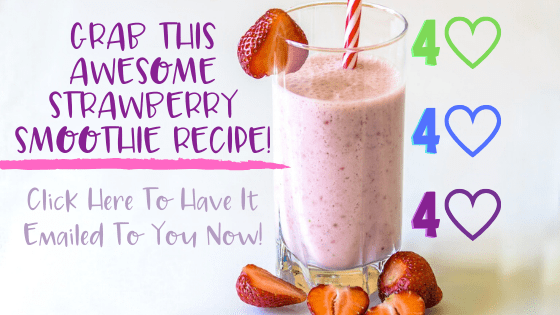Sassy Strawberry Smoothie Recipe for WW