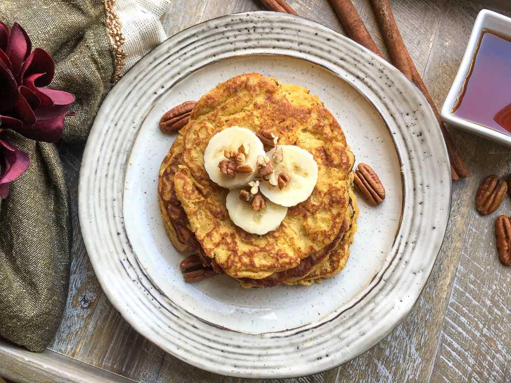 Banana Pumpkin Spice Pancakes: Easy MyWW Breakfast