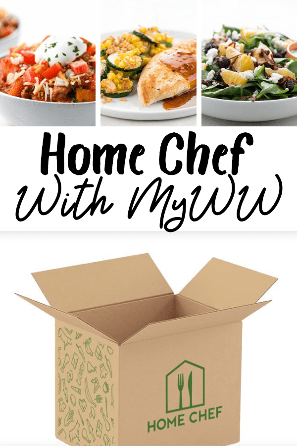 Using Home Chef for MyWW Plans