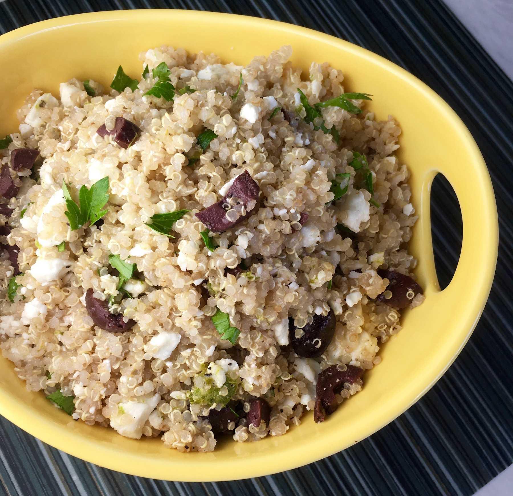 Easy myWW Mediterranean Quinoa Salad Recipe
