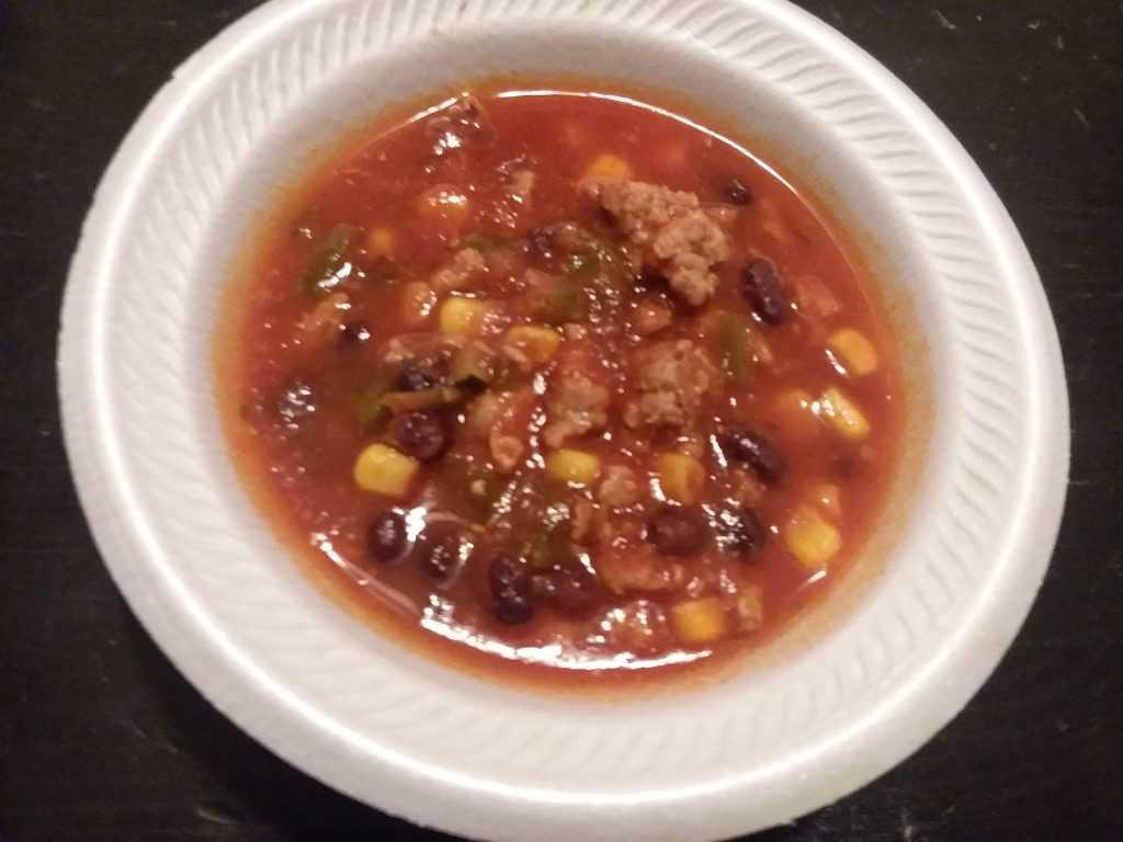 Chamoy Chicken Chili