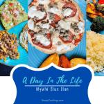 daily menu for myww blue plan