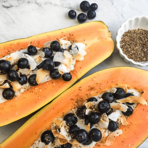 Papaya Tropical Breakfast Bowl