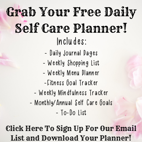 Grab Your Free Daily Self Care Planner From Sassy Cooking!