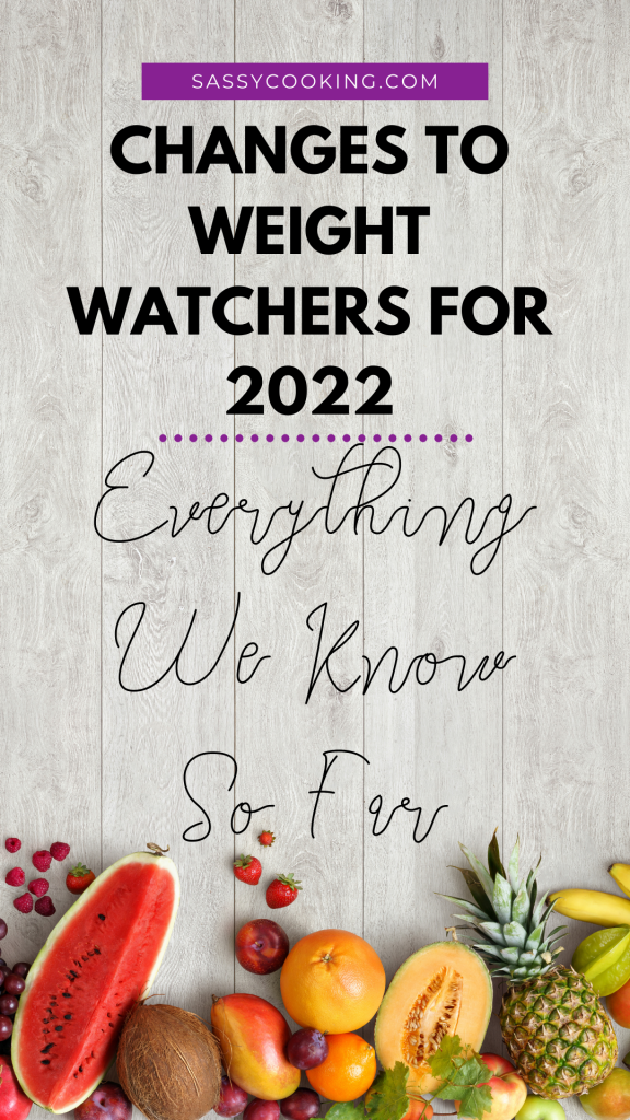 Changes to Weight Watchers for 2022, What You Need to Know